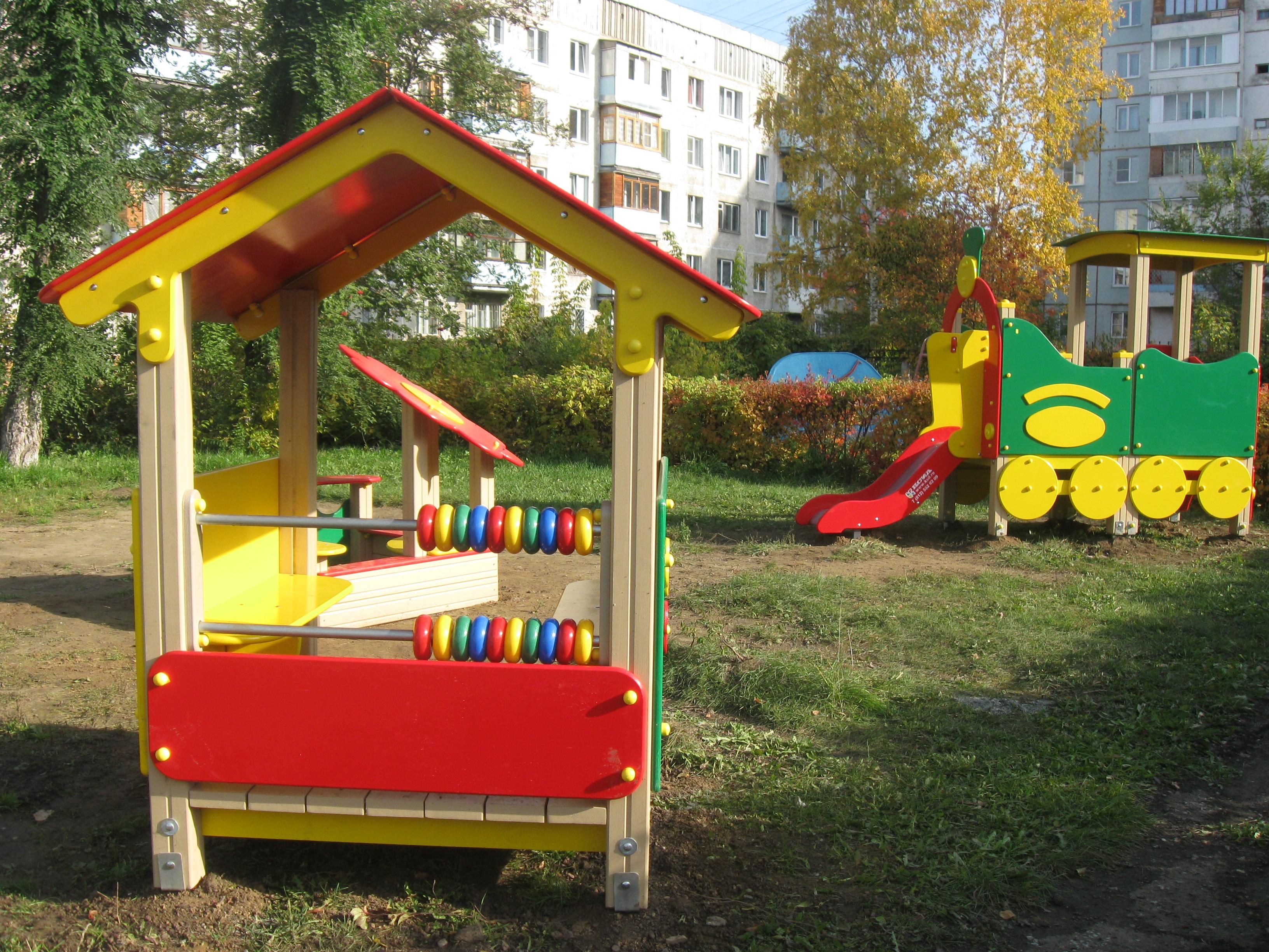 Фото оборудования для участка детского сада своими руками